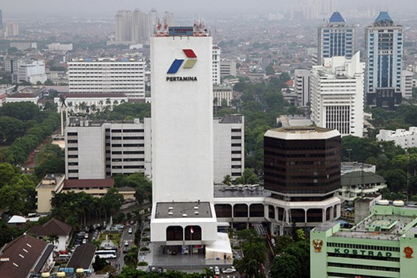 Kantor Pertamina di Jakarta - Ilustrasi