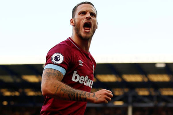 Striker West Ham United Marko Arnautovic - Reuters/Jason Cairnduff