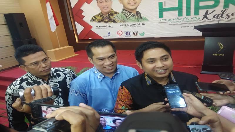 Calon Ketua Badan Pengurus Pusat Himpunan Pengusaha Muda Indonesia (BPP HIPMI) Mardani H Maming. JIBI/Bisnis - Arief Rahman