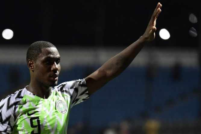 Striker Nigeria Odion Ighalo - Reuters