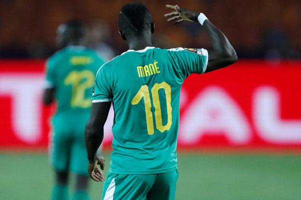 Striker Senegal Sadio Mane - Reuters/Amr Abdallah Dalsh