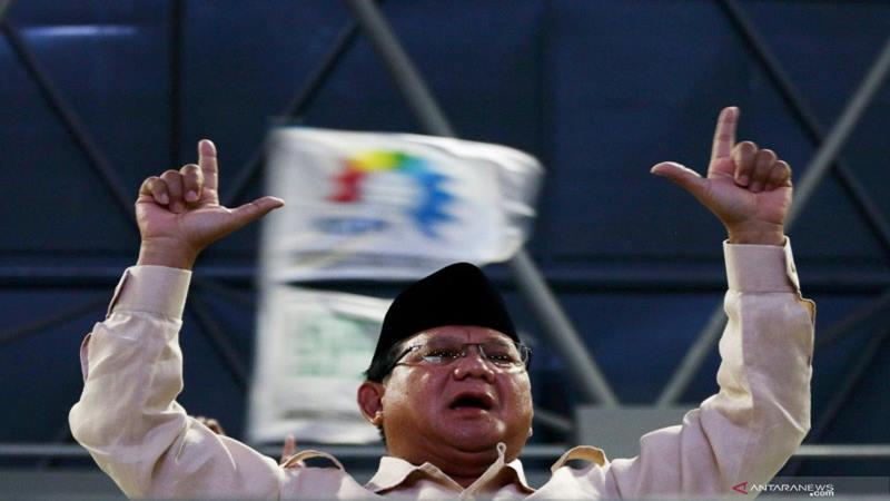 Calon Presiden Prabowo Subianto - Antara