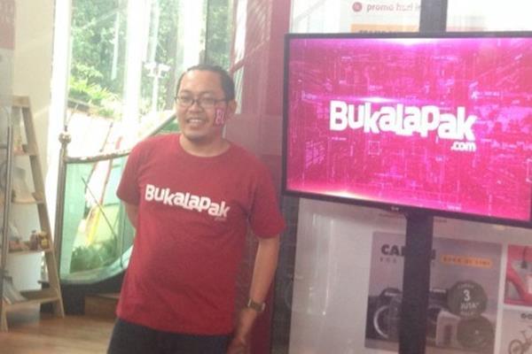 Founder dan CEO Bukalapak.com, Achmad Zaky - aNTARA