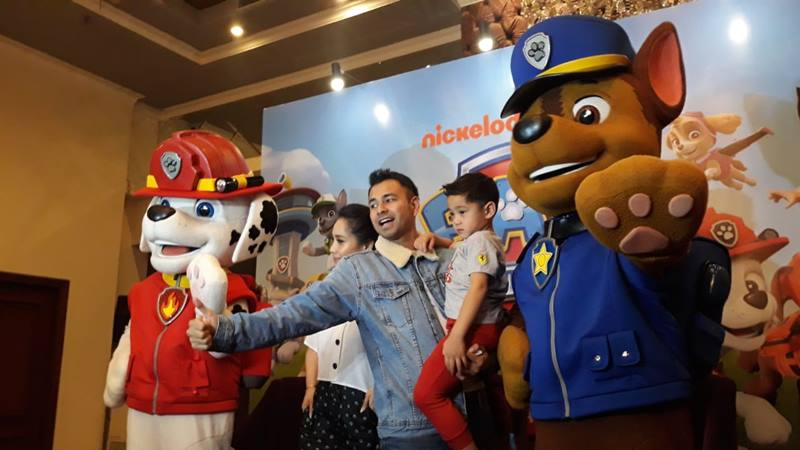 teater musikal paw patrol live 'race to the rescue