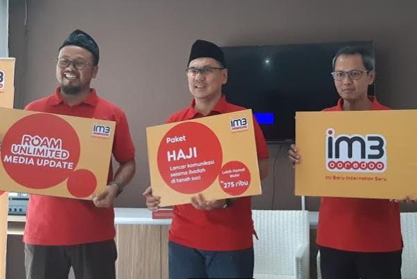 Peluncuran paket layanan Roam Unlimited Haji - Bisnis/Hadijah Alaydrus