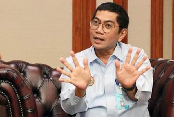 Direktur Jenderal Kekayaan Intelektual Kementerian Hukum dan Hak Asasi Manusia Freddy Harris - Bisnis/Dwi Prasetya