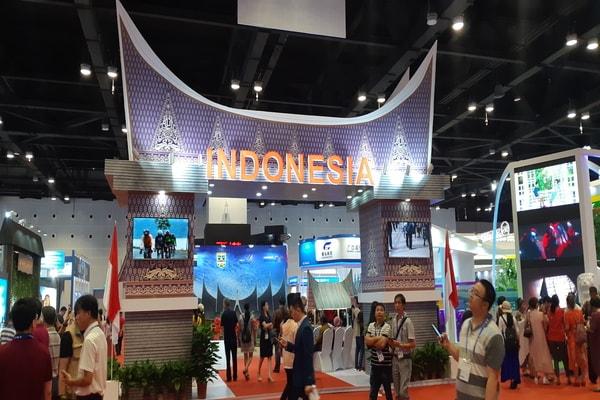 Paviliun Indonesia di CAEXPO 2018 Nanning, China / Yustinus Andri
