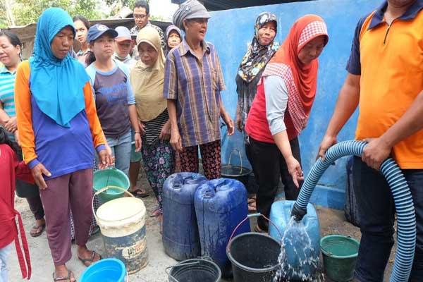: Penyaluran air bersih di Desa Balerante Kecamatan Kemalang Kabupaten Klaten