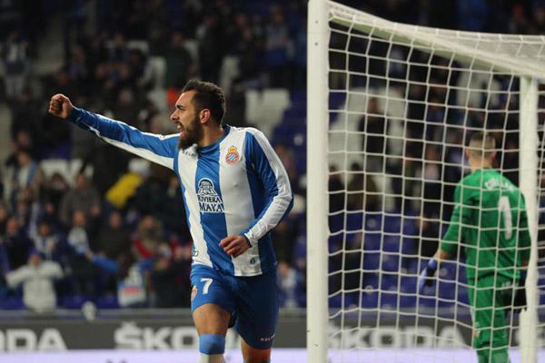 Penyerang Espanyol Borja Iglesias - Twitter RCDEspanyol