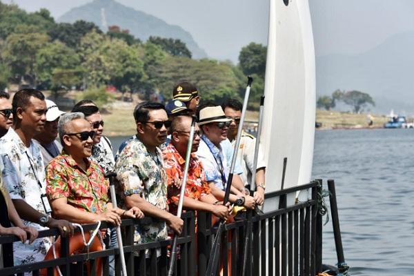 Pembukaan 1st Jatiluhur Stand Up Paddle and Kayak Exhibition - Istimewa
