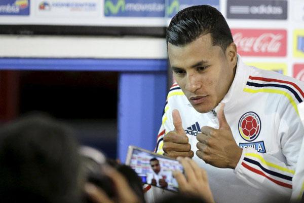Bek Timnas Kolombia Jeison Murillo - Reuters/Jorge Adorno