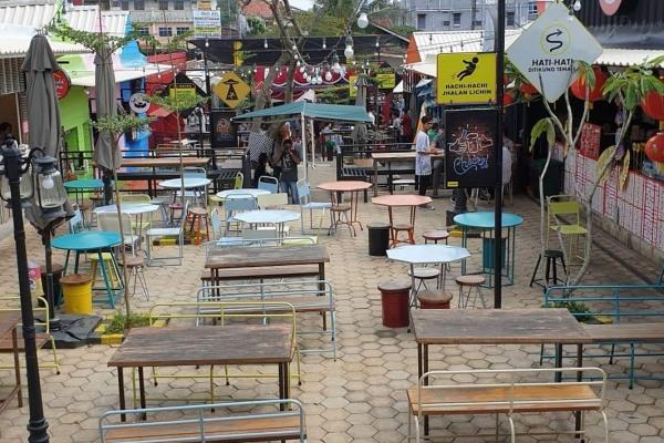 Salah satu destinasi kuliner di Kota Palembang - Istimewa