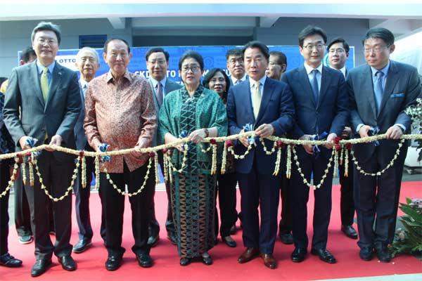 Peresmian pabrik obat antikanker pertama di Indonesia CKD Otto pekan lalu - Foto CKD Otto