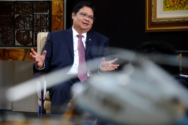 Menteri Perindustrian Airlangga Hartarto - Antara