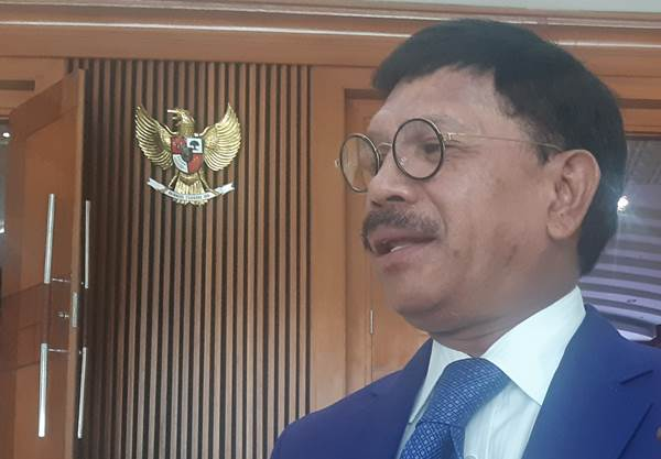 Sekretaris Jenderal Nasional Demokrat Johnny G Plate - Bisnis/Jaffry Prabu Prakoso