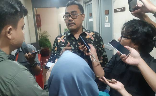 Ketua DPP Partai Kebangkitan Bangsa (PKB) Jazilul Fawaid menjawab pertanyaan dari sejumlah wartawan di DPR, Selasa (16/7/2019). - Bisnis/Jaffry Prakoso