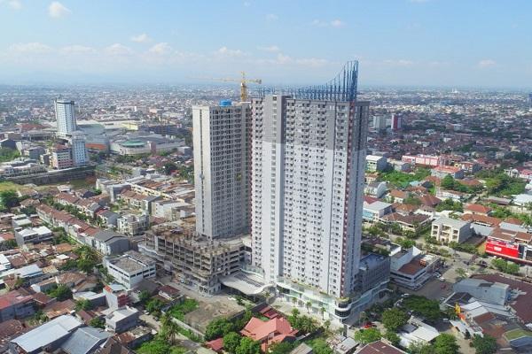 Apartemen VidaView, proyek hunian vertikal yang dikembangkan Ciputra Group di Makassar. - Bisnis