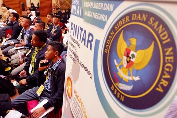 Ilustrasi-Suasana saat 124 Parlemen Remaja dari 78 dapil di 34 provinsi se- Indonesia mengunjungi Badan Siber dan Sandi Negara (BSSN) di Jakarta, Rabu (19/9/2018). - JIBI/Nurul Hidayat