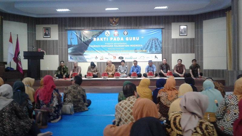 Charoen Pokphand menggelar pelatihan untuk para guru di Makassar yang dikemas dalam program
