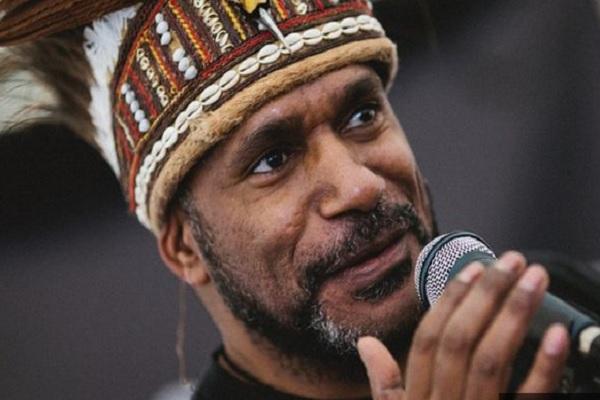 Ketua Persatuan Gerakan Pembebasan untuk Papua Barat (ULMWP) Benny Wenda. - bbc.co.uk