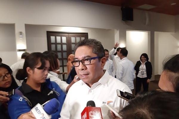 Direktur Utama IPC Elvyn G. Masassya di Jakarta, Senin (18/3/2019). - Bisnis/Antara
