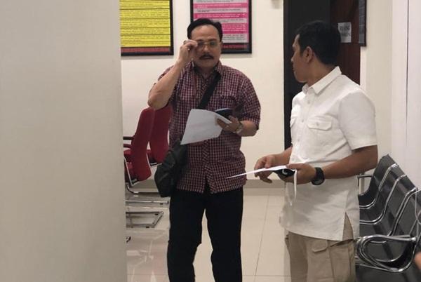 Ketua Majelis Hakim Pengadilan Negeri Jakarta Pusat H. Sunarso (kiri) - Bisnis/Ayyubi