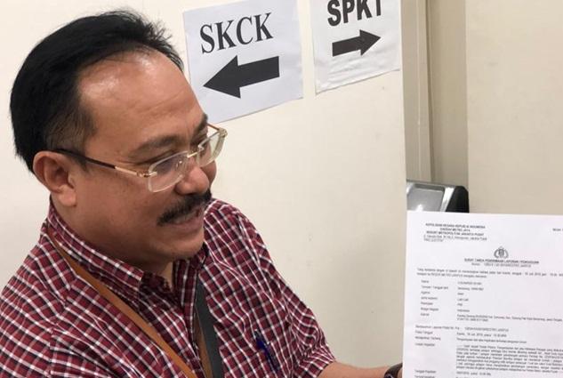 Ketua Majelis Hakim Pengadilan Negeri Jakarta Pusat H. Sunarso  - Bisnis/Ayyubi