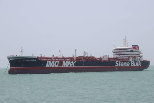 Kapal Stena Impero milik Stena Bulk. - Reuters