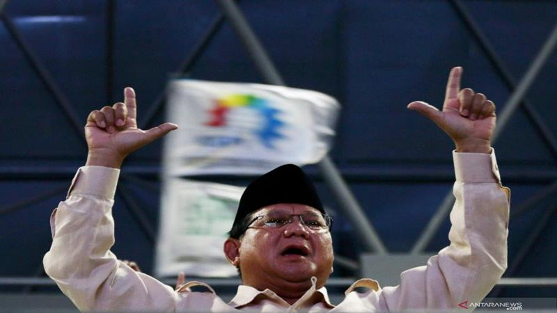 Prabowo Subianto - Antara