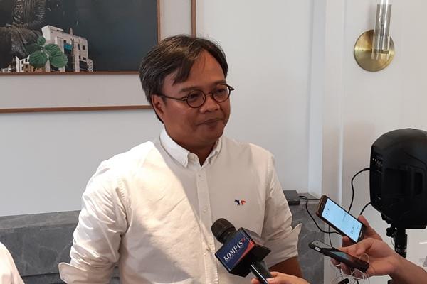 Direktur Utama AirAsia Indonesia Dendy Kurniawan. - Bisnis/Rinaldi M. Azka