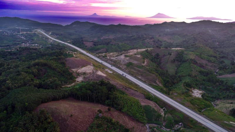 Tol Trans Sumatra/JIBI - Bisnis/Abdullah Azzam