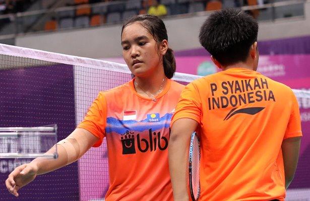 Ganda putri, Nita Violina Marwah-Putri Syaikah - Badminton Indonesia