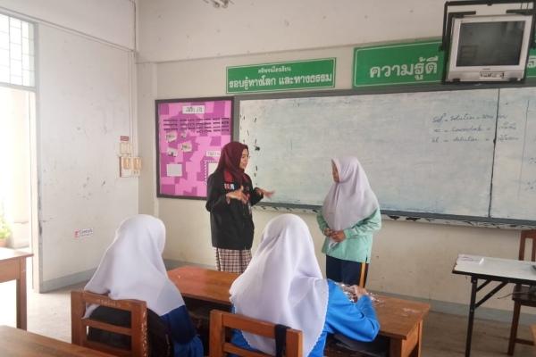 Ilustrasi - Praktik mengajar dalam program KKN Internasional Universitas Muhammadiyah Malang (UMM) di Thailand. - Bisnis/Istimewa