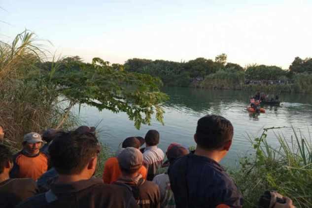 Pesawat latih Cesna jatuh di Sungai Cimanuk / Antara