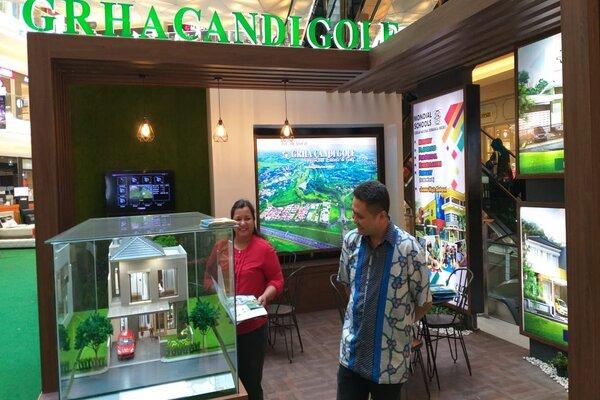 Pameran Property Ekspo ke 4 di Mal Paragon Semarang. - Bisnis/Alif Nazzala R.