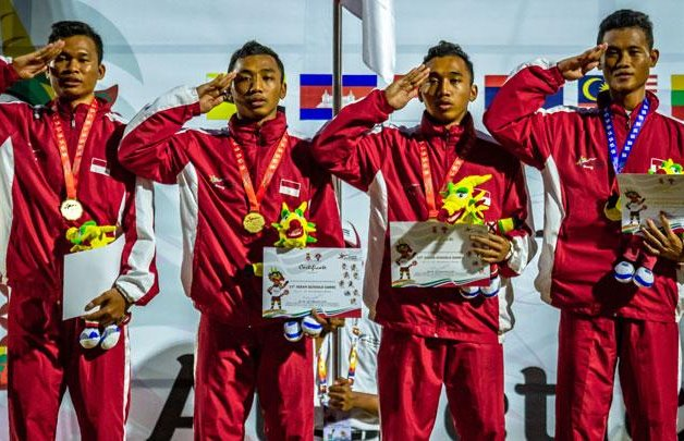 Tim pelari Indonesia di Asean School Games 2019 - Antara