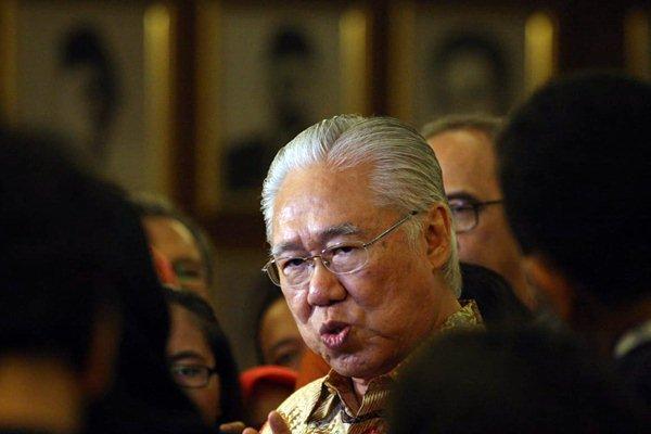Menteri Perdagangan Enggartiasto Lukita memberikan penjelasan kepada awak media, di Jakarta, Senin (7/1/2019). - Bisnis/Dedi Gunawan