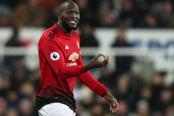 Ujung tombak Manchester United Romelu Lukaku - Reuters/Lee Smith