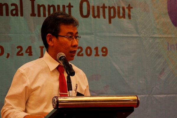 Kepala BPS Sulut Ateng Hartono.