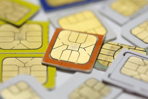 Ilustrasi SIM Card - Reuters