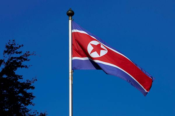 Bendera Korea Utara - Reuters
