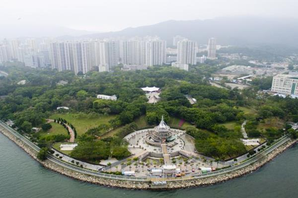 Tai Po Waterfront Park di Tai Po, Hong Kong - News.com.au