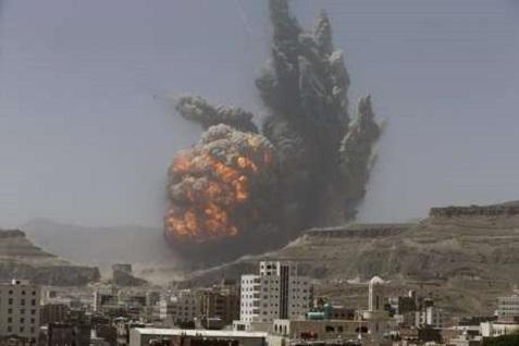 Misil Scud yang disinyalir menghantam kawasan sekitar KBRI Yaman - Reuters