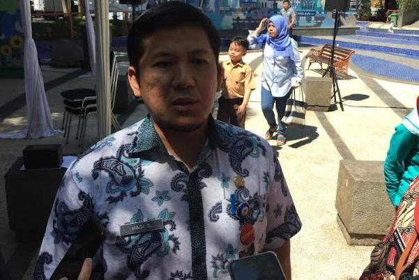 Kepala Sub Bagian Data, Informasi dan Evaluasi DBMPTSP Kota Bandung, Hadi Surachman - Bisnis/Dea Andriyawan