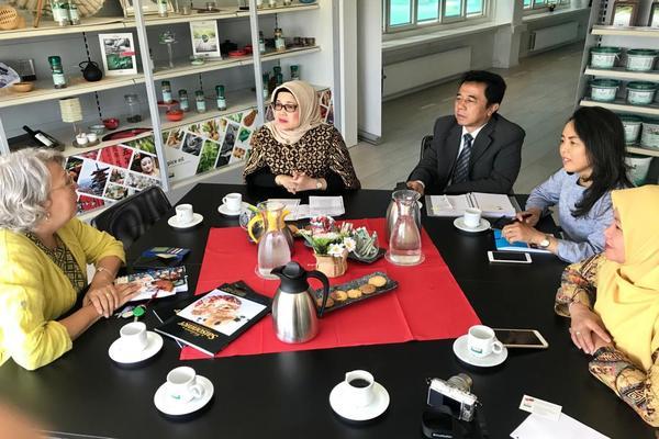 Kunjungan Dirjen Pengembangan Ekspor Nasional Arlinda ke Belanda untuk mempromosikan potensi ekspor rempah Indonesia. - Kementerian Perdagangan