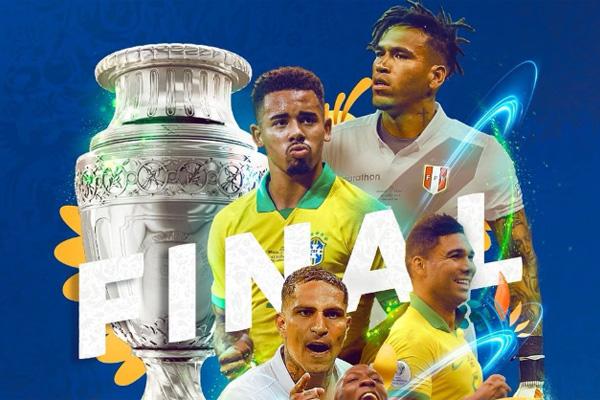 final copa america peru vs brasil