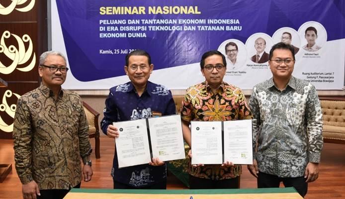 Feb Universitas Brawijaya Gandeng Csis Kembangkan Riset Ekonomi Nasional Dan Dunia Kabar24 Bisnis Com