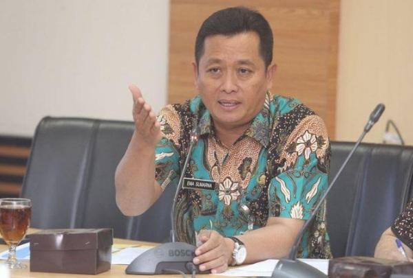 Sekretaris Daerah Kota Bandung Ema Sumarna - Bisnis/Dea Andriyawan