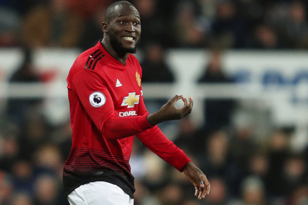 Ujung tombak Manchester United Romelu Lukaku - Reuters/Lee Smith