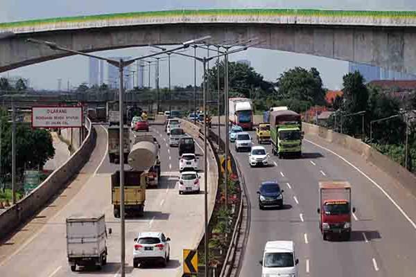 Tol Jakarta Outer Ring Road (JORR). - Istimewa